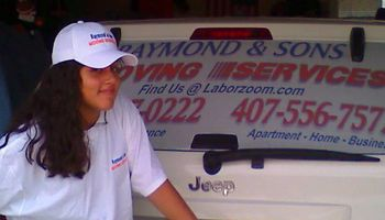RAYMOND & SONS |||| MOVING SERVICES