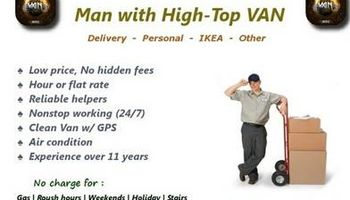 MAN WITH BIG VAN / Available RIGHT NOW
