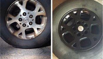 Customized Wheels! Painting/plasti-dip