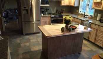 Ambrosia Maple Kitchen. JMAWoodworks