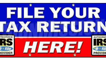 Tax Prep - $500 Next Day Tax Advance & Free Android Tablet w/Tax Prep