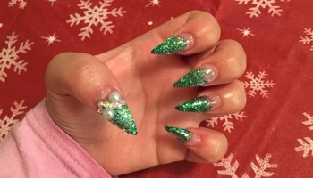 Acrylic nails $20 dollars
