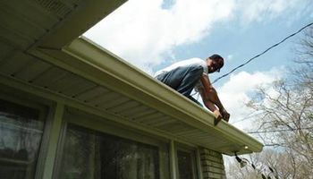 EAGLE SEAMLESS GUTTERS PLUS. Gutter Cleaning
