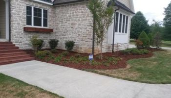 Spring Creek Farms. MMulch Installation, Decorative Gravel