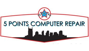 5 Point Computer Repair. Virus Removal Starting $49.