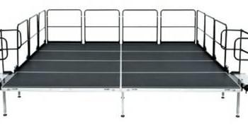 BRAND NEW 40' x 40' Bil Jax AS 2100 Aluminum Stage