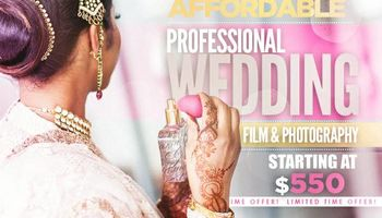 WEDDING PHOTOGRAPHY AND WEDDING VIDEOS STARTING AT $550