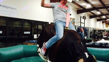 Rent a Mechanical Bucking Bull for your next party!