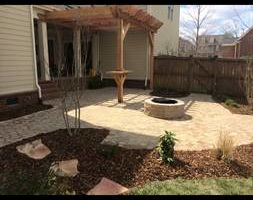 Landscaping (mulch,trim, irrigation, stone)