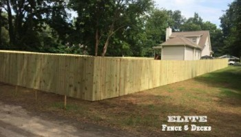 Elite Fence and Decks Installation
