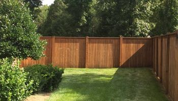 Central Tennessee Fence Staining