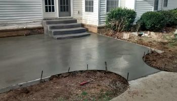 Pour Man Concrete. Affordable, Dependable, & Experienced