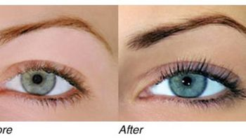 Eyebrow and lash tinting. Wynter Studio