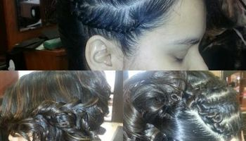 Natutal hair stylist
