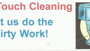 FINAL TOUCH CLEANING. FULL SERVICE janitorial company