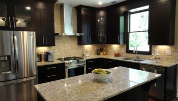 Kitchen & bathroom cabinet refinishing & painting