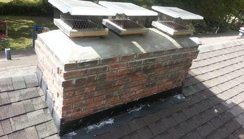 Chimney Repair cap replacement
