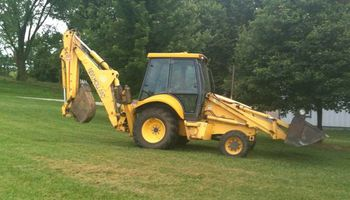 Backhoe/Loader Available for Digging and Trenching