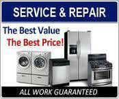One Appliance Repair Servicer. Licensed & Insured