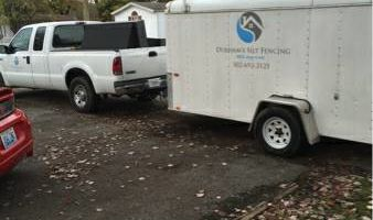 Hauling - 2 ft enclosed trailer