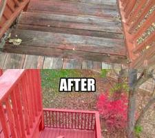Quality Work! Reasponable Price for Pressure washing!