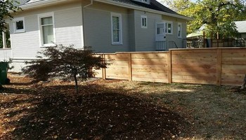 Alanmarc Construction. 6' Cedar Fence $17.00 A Foot