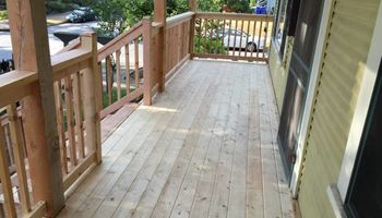 Sunrise Construction. Deck & Fence Service
