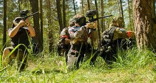 PAINTBALL PARTIES WOODS BALL $30