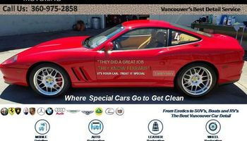 Vancouver Car Detailing - Exotic-Luxury-Family - $25 Winter Discount