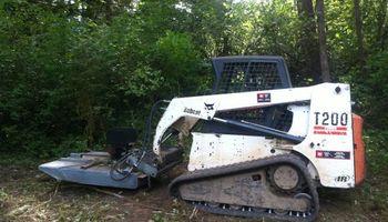 Cascade Tractor. Demolition Concrete / Asphalt / Fencing / Sheds / Houses