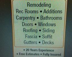 Jon's Home Improvements - Remodeling, Additions, Roofing, Windows, Siding