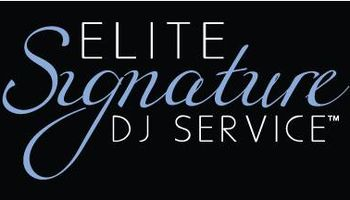 Elite Signature DJs. Experienced Wedding and Event DJs
