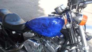 Cutt Loose Auto Works & Collision Center. Motorcycle Paint Jobs