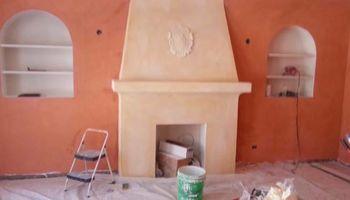 Plaster, Stucco, Cultured stone