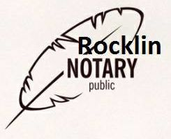 Rocklin Notary Public - A Mobile Notary Service Provider