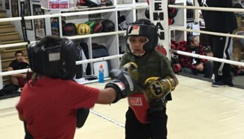 LEARN BOXING IN A BOXING GYM ( Aleman Boxing Fresno)