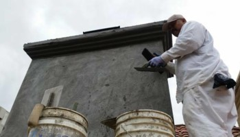 $250 stucco repair, redash, acoustic removal, paint