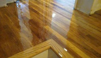 HARDWOOD FLOORING. SANDING AND REFINISHING