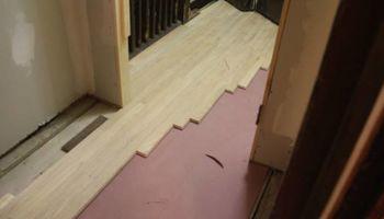 Custom Wood Floor Service