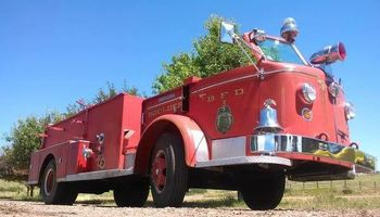 Antique Fire Truck Rental
