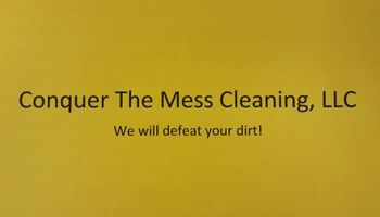 Conquer The Mess Cleaning, LLC .