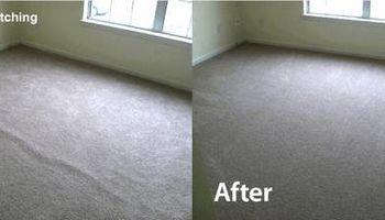 Carpet Cleaning. Stretching & Repair