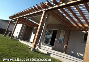 All Access Fence. Professional Fence & Pergola Installation