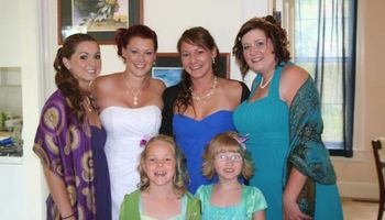 Wedding and special occasion hair stylist