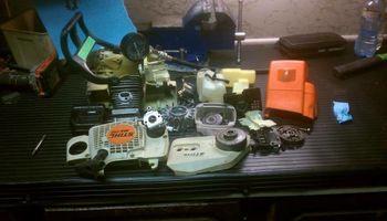 Mobile Chainsaw Repair