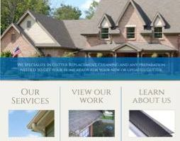 Seamless gutter leaf protection - gutter cleaning