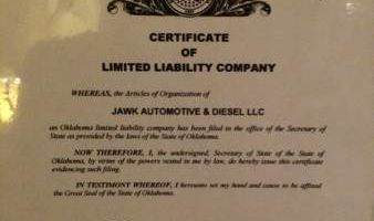 JAWK Automotive & Diesel LLC