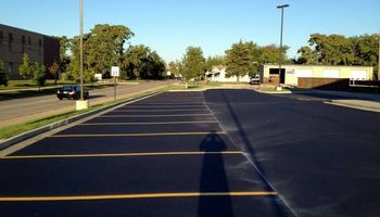 Kingdom Paving. Asphalt crack repairs