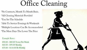 No Contract Facility Business / Corporate Commercial Cleaning Service