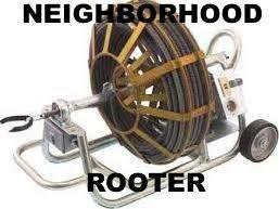 Neighborhood Rooter. DRAIN CLEANING